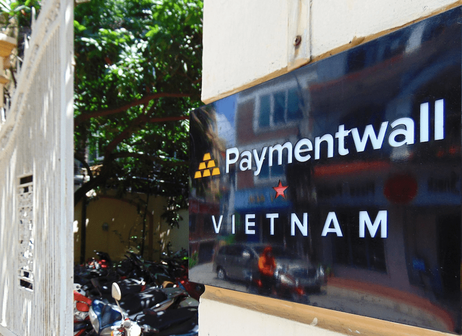 Paymentwall Hanoi office