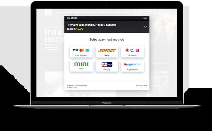 Paylet desktop platform