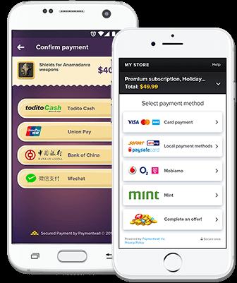 Paylet mobile platform