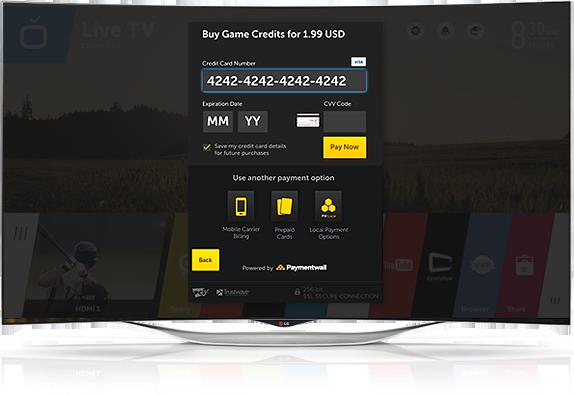 Paylet SmartTV platform