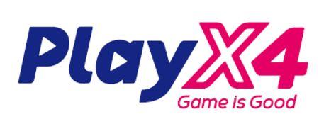 PlayX4 logo